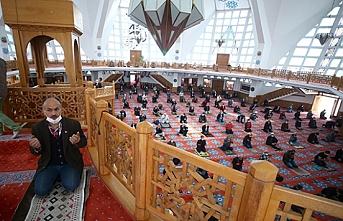 Trakya'da cuma namazı sonrası yağmur duası