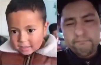 Uygur baba, kaybettiği oğluna sosyal medyada rastladı