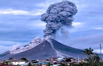 Yanardağ hareketlendi, son 24 saatte 2 patlama oldu