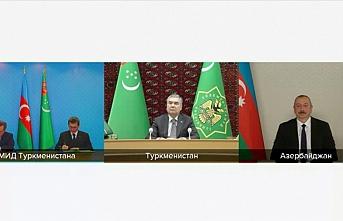 Azerbaycan ve Türkmenistan'dan ortaklık anlaşması