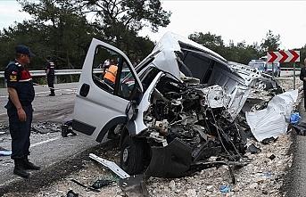 Bakan Soylu açıkladı: Trafik kazaları 4 bin 890 can aldı
