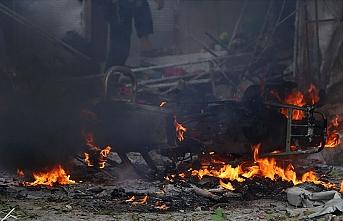 Barış Pınarı bölgesinde bombalı saldırı