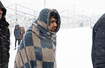 Bosna Hersek'teki mülteciler kış ayazında zor durumda
