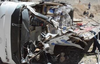 Brezilya'da otobüs kazasında 21 kişi öldü