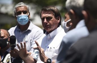 Brezilya Devlet Başkanından ilginç Kovid-19 açıklaması