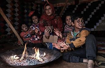İdlib'de sivil imkansızlıklar içinde hayatta kalmaya çalışıyorlar