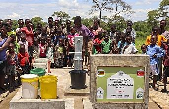 İHH 41 ülkede 9 binden fazla su kuyusu açtı