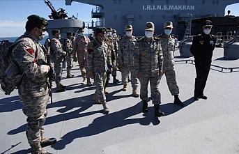 İran Deniz Kuvvetleri tatbikata başladı