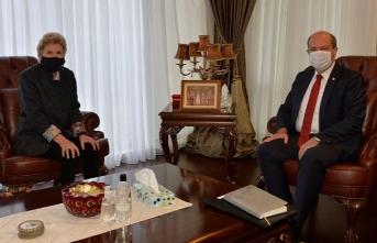 KKTC Cumhurbaşkanı Ersin Tatar'dan önemli görüşme