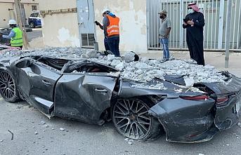 Milyon dolarlık kaza! Hepsi hurdaya döndü