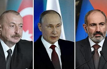 Moskova'da 3'lü Karabağ zirvesi başladı