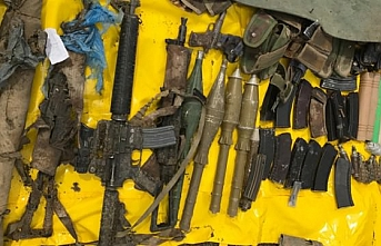 PKK'ya operasyon! Çok sayıda mühimmat ele geçirildi