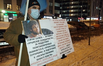 Rusya'da Kırım Tatarlarına destek veren aktivistlere gözaltı