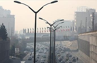 Tahran'da hava kirliliği
