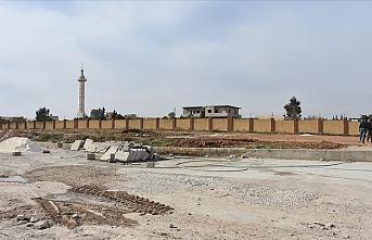 Tel Abyad ilçesine yapılan hastane 45 gün sonra açılacak