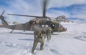 Terörist avındaki askerler böyle görüntülendi