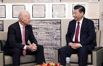 Çin Devlet Başkanı ile görüşen Biden, endişelerini aktardı