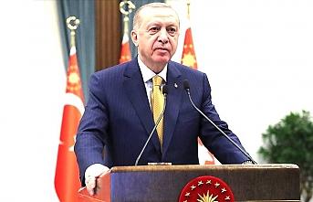 Erdoğan, Erbakan'ı vefatının 10. yılında andı