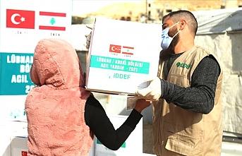İDDEF'ten Suriyelilere yardım eli