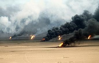 Tarihte bugün (22 Şubat):  Irak, Kuveyt'teki petrol bölgelerini ateşe verdi