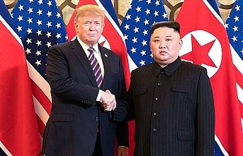 Trump'tan Kuzey Kore liderine Air Force One ile eve bırakma teklifi
