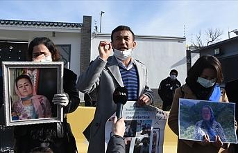 Uygur Türkleri, Ankara Büyükelçiliği önünde eylem yaptı
