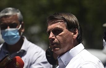 Brezilya Devlet Başkanı eve kapanmaya karşı