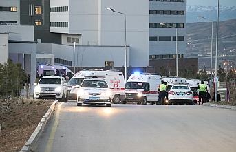 Tatvan'da şehit düşen 11 askerin naaşı Elazığ'a getirildi