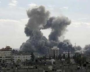 İsrail Gazze'yi vurdu; En az beş ölü...