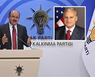 AK Parti'den ABD büyükelçisine tepki