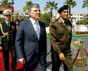 Abdullah Gül Mısır'da