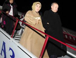 Erdoğan, ekmek ve tuzla karşılandı