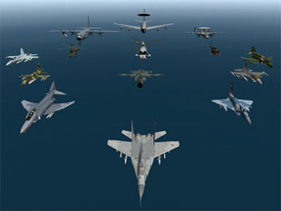 NATO Sirte'de askeri hedefleri vurdu