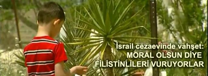 Filistinli mahpuslara İsrail zulmü