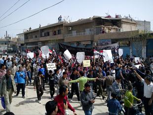 Suriye Der'a'da operasyonlar sürüyor