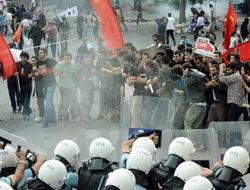 Ankara'yı savaş alanına çevirdiler