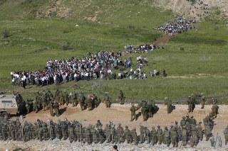 Golan Tepeleri'nde 'Naksa' gerginliği: 20 ölü