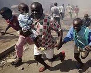 Sudan'da çatışmalar 40 bin kişiyi evinden etti