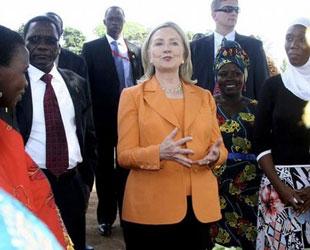 Clinton: Sudan'da barış için müdahale şart