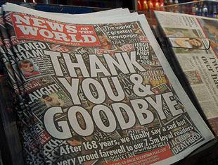 Telekulak kurbanı gazetenin son sayısı