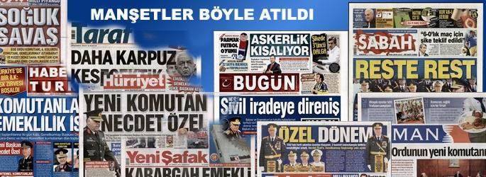 Manşetler 'sürpriz emekliliği' böyle gördü