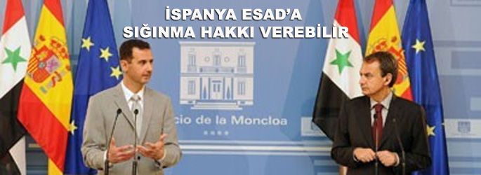 İspanya Esad'a sığınma hakkı verebilir