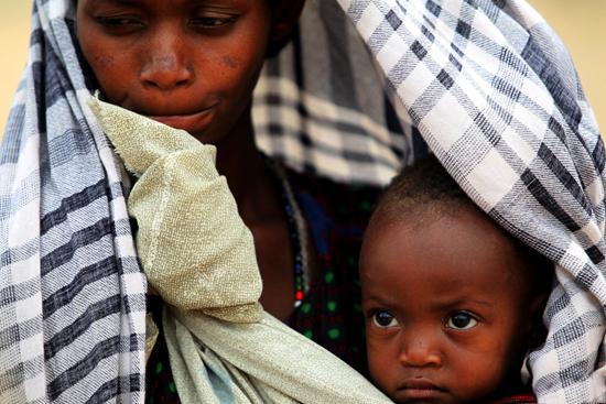 Somali'de açlık engel tanımıyor-FOTO