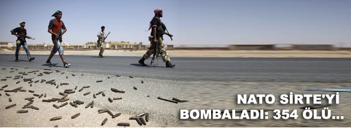 Sirte saldırısında 354 kişi öldü
