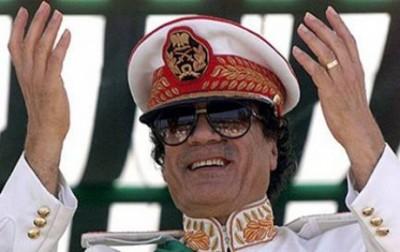 Kaddafi'den 'sistem' mesajı