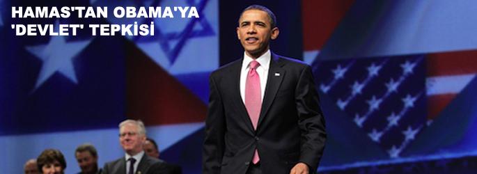 Hamas'tan Obama'ya 'devlet' tepkisi