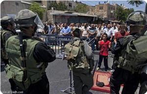 İsrail Kudüs'ü kışlaya dönüştürdü