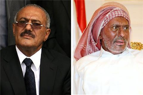 Salih, ülkesi Yemen'e döndü