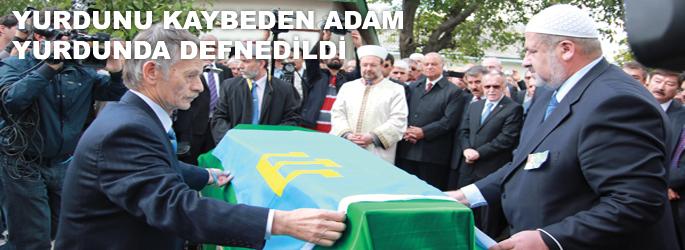 Cengiz Dağcı'ya son görev