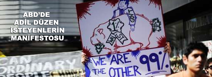 Wall Street eyleminin manifestosu